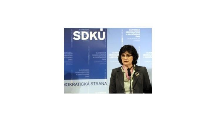 Kandidáti na post predsedu SDKÚ-DS vystúpili so svojimi prejavmi