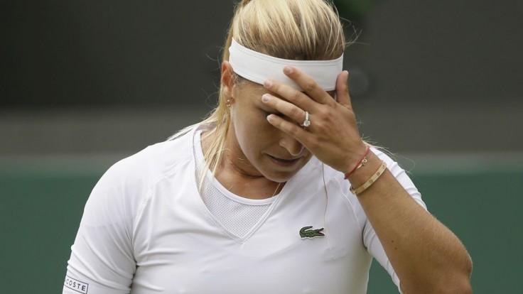 Cibulková nestačila na Ostapenkovú, prehrala v dvoch setoch