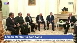 Netanjahu hovoril s Putinom o Sýrii, požiadal ho o pomoc