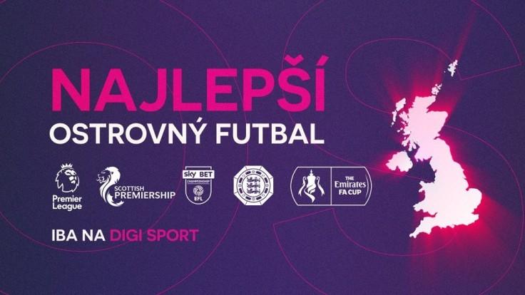 Vysielanie DIGI Sport bude nabité ostrovným futbalom