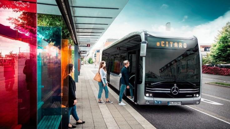 Daimler odhaľuje plne elektrický mestský autobus eCitaro