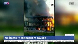 V priemyselnom parku explodovala chemička, hlásia mŕtvych