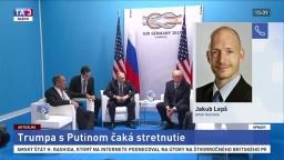 Amerikanista J. Lepš o nadchádzajúcom stretnutí Trumpa s Putinom