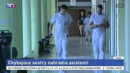 Sestričky nahradia asistenti, nemocnice tak získajú lacnú pracovnú silu