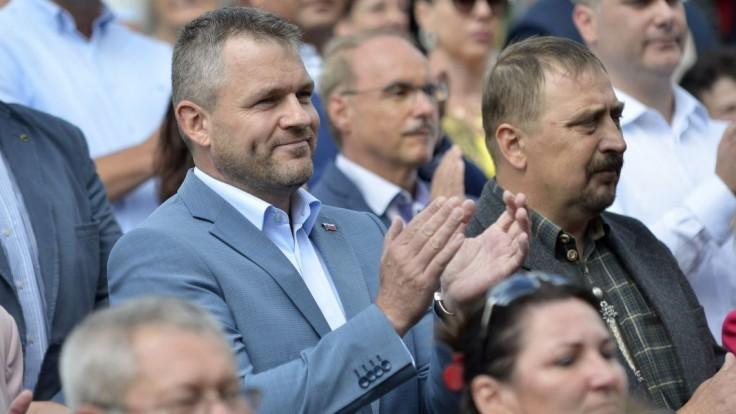 Máme byť na čo hrdí, tvrdí Pellegrini. Slovensko píše úspešný príbeh