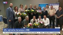 Hráčky slovenskej basketbalovej reprezentácie oslavovali výročie