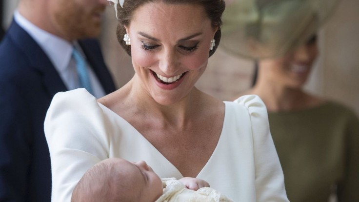 Fotogaléria: Takto vyzeral krst malého britského princa Louisa