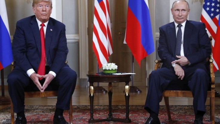 Fotogaléria: Pozrite si prvé samostatné stretnutie Trumpa a Putina