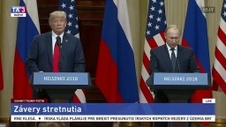 TB D. Trumpa a V. Putina po spoločnom rokovaní
