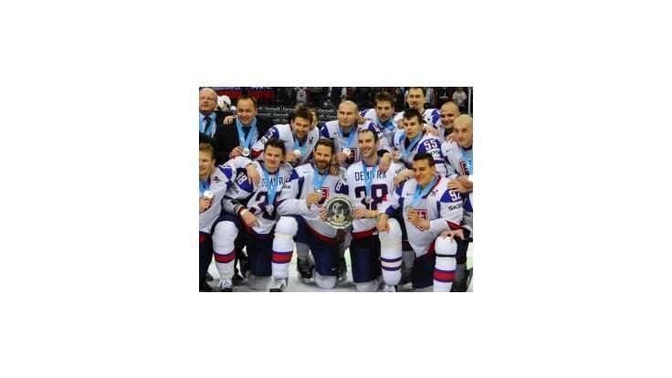 Slovenskí hokejisti vybojovali skvelú striebornú medailu