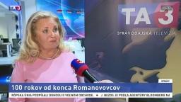Historička M. Holubová o výročí popravy ruskej cárskej rodiny