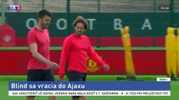Obranca Blind sa vracia do Amsterdamu, Ajax ho odkúpil za 16 miliónov