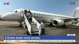 Izrael dokončuje nové letisko, láka do krajiny turistov
