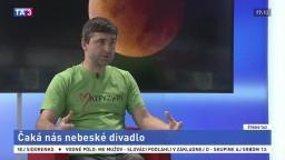 ŠTÚDIO TA3: J. Tóth o výnimočnom zatmení mesiaca