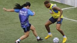 Mladé myjavské futbalistky sa v Brazílii stretli s Neymarom