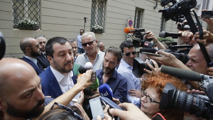 Rusko malo právo anektovať Krym, tvrdí Salvini. Ukrajina protestovala