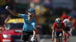 Nielsen sa stal víťazom 15. etapy, Sagan nestačil tempu najlepších vrchárov