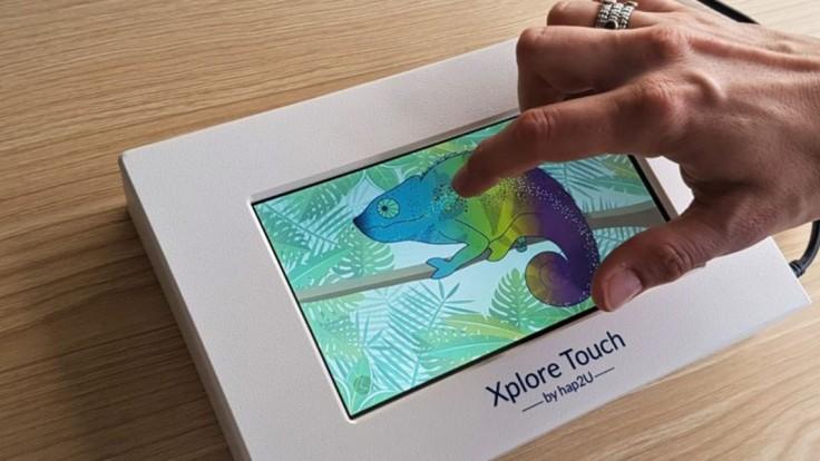 Nové možnosti ovládania dodávajú skutočný pocit pri dotyku obrazovky