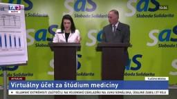 TB predstaviteľov SAS o virtuálnych účtoch za štúdium medicíny