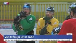 Žilinskí hokejisti majú za sebou prvý tréning na ľade
