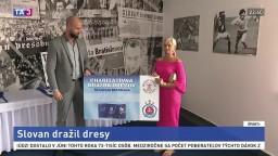 Futbalový Slovan sa rozhodol pomôcť dobrej veci, zorganizovali internetovú dražbu