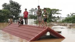 Laos čelí katastrofe, po pretrhnutí hrádze sú nezvestné stovky ľudí