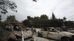 Grécko pátra po nezvestných, hasiči už majú oheň pod kontrolou