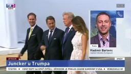 Riaditeľ Europeum V. Bartovic o stretnutí Junckera s Trumpom