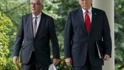 Predseda EK rokoval s Trumpom, budú sa usilovať o nulové clá