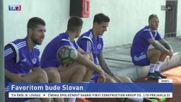 Slovan je v zápase 2. predkola UEFA proti Balzanu favoritom
