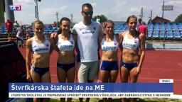 Na Majstovstvách Európy v atletike odštartuje aj naša štafeta žien
