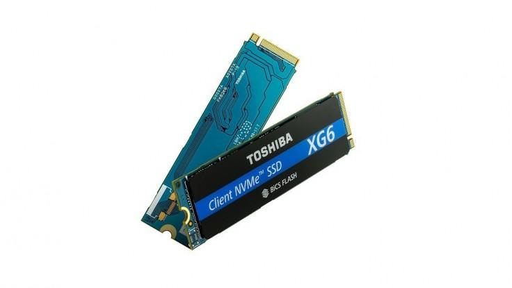 Prvé NVMe SSD disky Toshiba s 96 vrstvami 3D flash pamäte