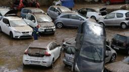 Fotogaléria: Požiare vystriedali záplavy. Atény náhle zaliala voda