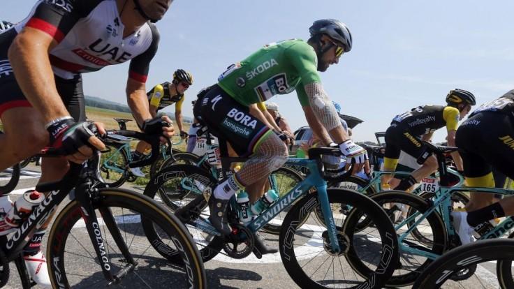 Doráňaný Sagan na víťazstvo nesiahol, víťazom etapy je Démare