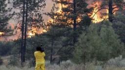 Kaliforniu sužujú lesné požiare, plamene zničili stovky domov