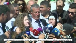 Dievča, ktoré sa stalo pre Palestínčanov hrdinkou, prepustili na slobodu