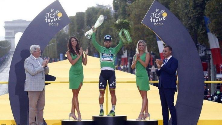 Sagan vyrovnal rekord, z Paríža si odvezie už šiesty zelený dres