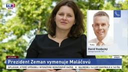 D. Vozdecký o vymenovaní novej českej ministerky práce