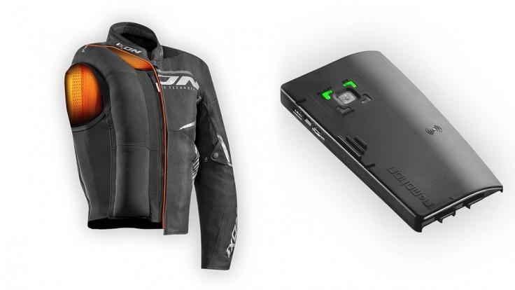 Ixcon je airbag pre motocyklistov, ktorý sa ukrýva vo veste