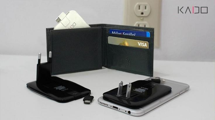 Kado: Nabíjačka na mobil do peňaženky