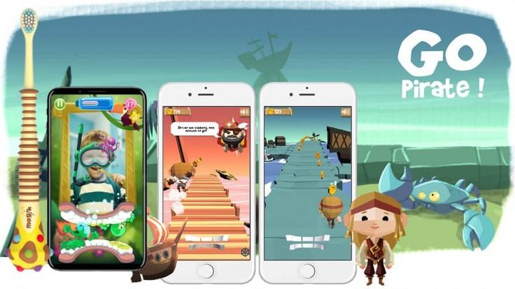 Zubná kefka Magik premení umývanie zubov na zábavnú mobilnú hru