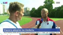Šéftréner SAZ M. Pupiš o ME v atletike a našich reprezentantoch