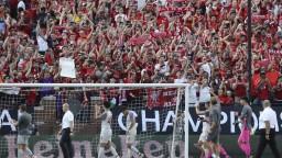 Liverpool vysoko deklasoval Neapol, Hamšík zápas nedohral