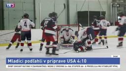 Hokejoví mladíci nestačili na rovesníkov z USA, prehrali 4:10