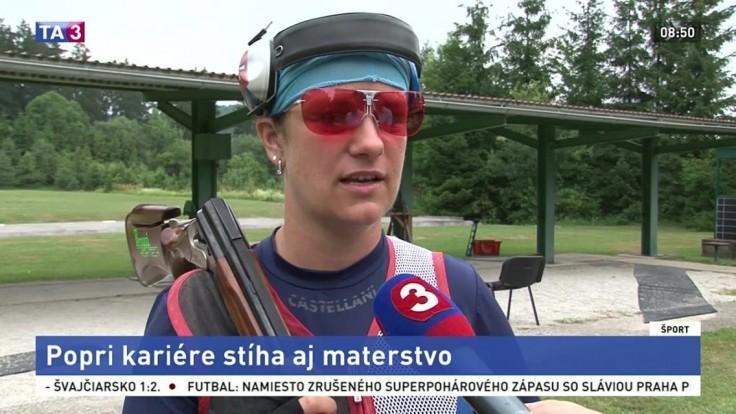 Zbiera cenné kovy: Rehák-Štefečeková vybojovala už tretiu medailu