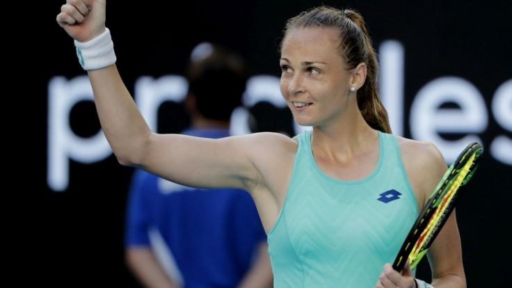 Rybáriková sa prebojovala do 2. kola na turnaji WTA, zdolala Češku Strýcovú