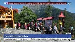 V Tatrách robia inventúru turistov, chcú zistiť ich presný počet