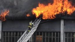 V centre Banskej Bystrice vypukol požiar, zachvátil priemyselný areál