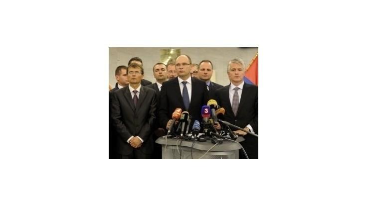Ministri za SaS dostali od Radičovej návrh, aký to nešpecifikovali