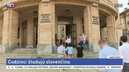 Zahraniční študenti trávia leto v Bratislave, učia sa slovenčinu